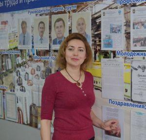 Предцехком отдела охраны труда и промбезопасности ММК-Метиз О. Скрыль