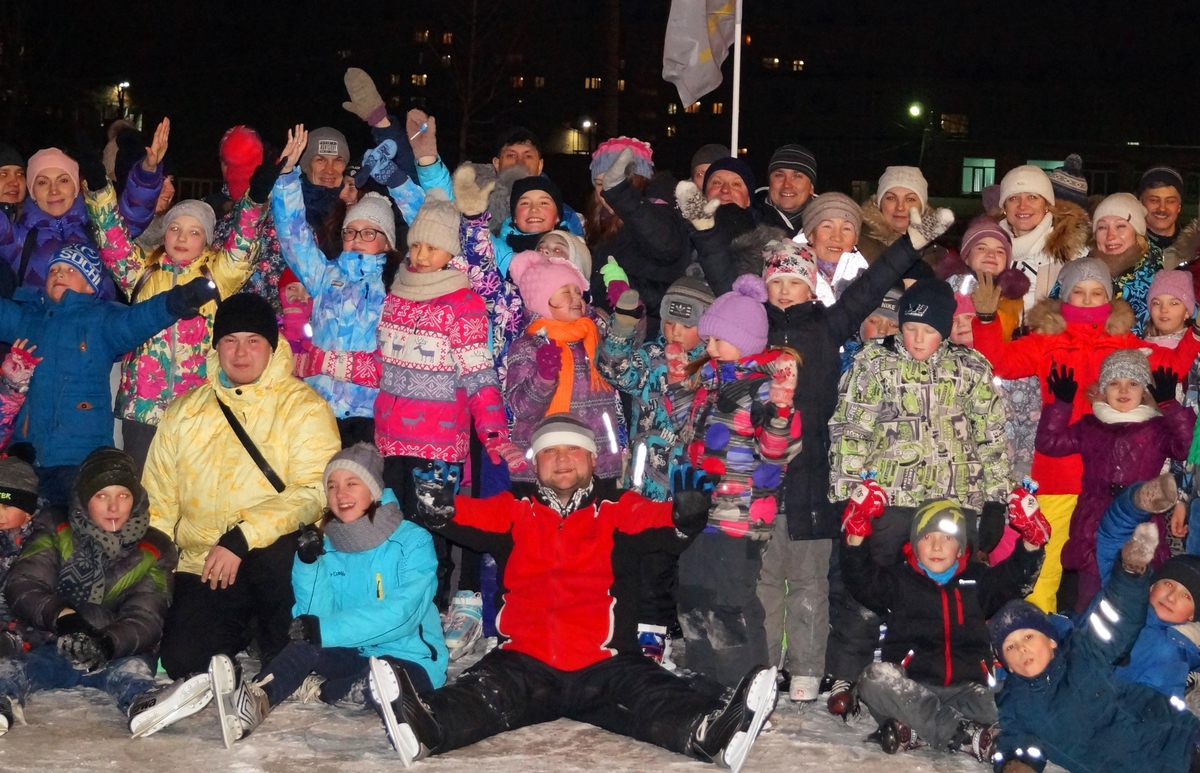 Ледовый марафон горячих сердец