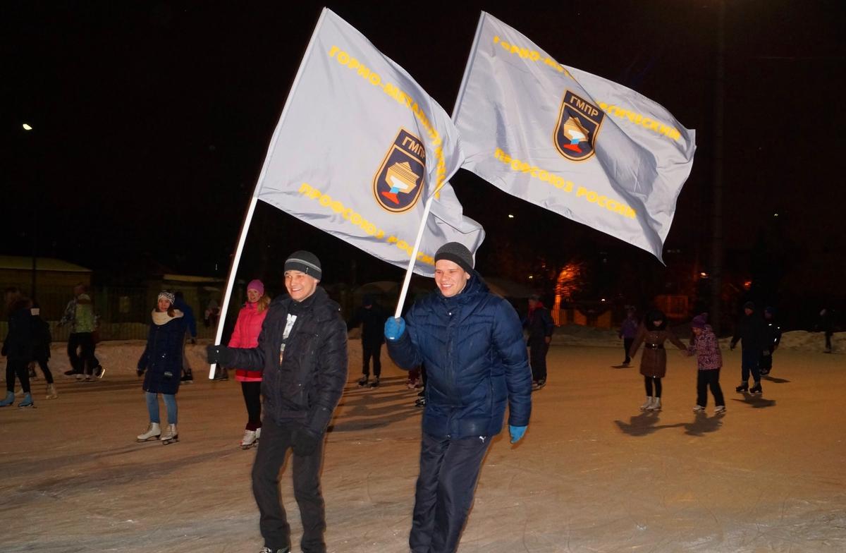 Скорость, лед и знамя в руки