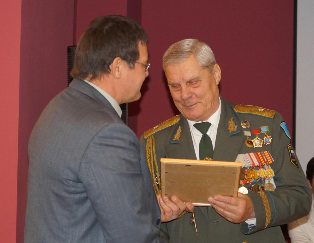 Награда от Союза десантников