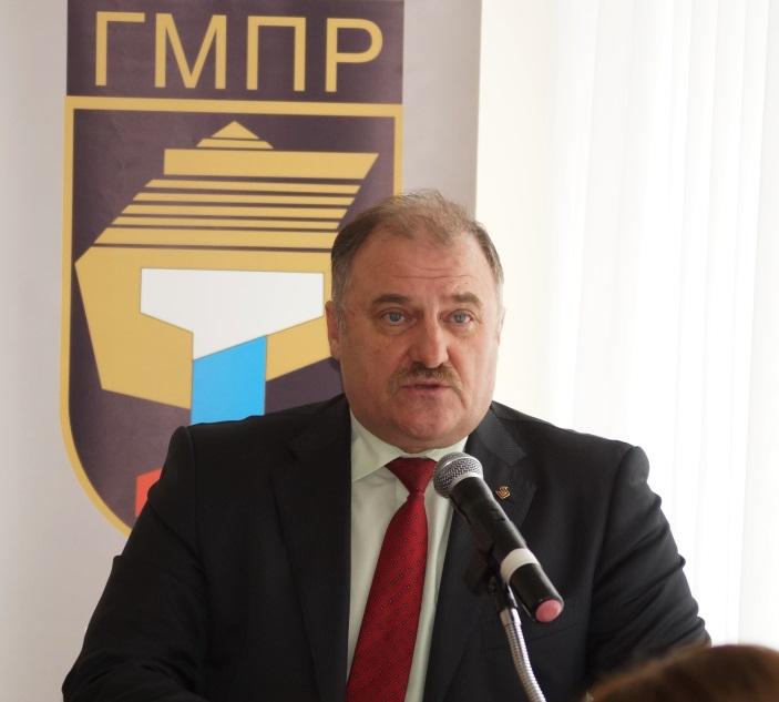 Ю. Горанов, председатель ЧОО ГМПР
