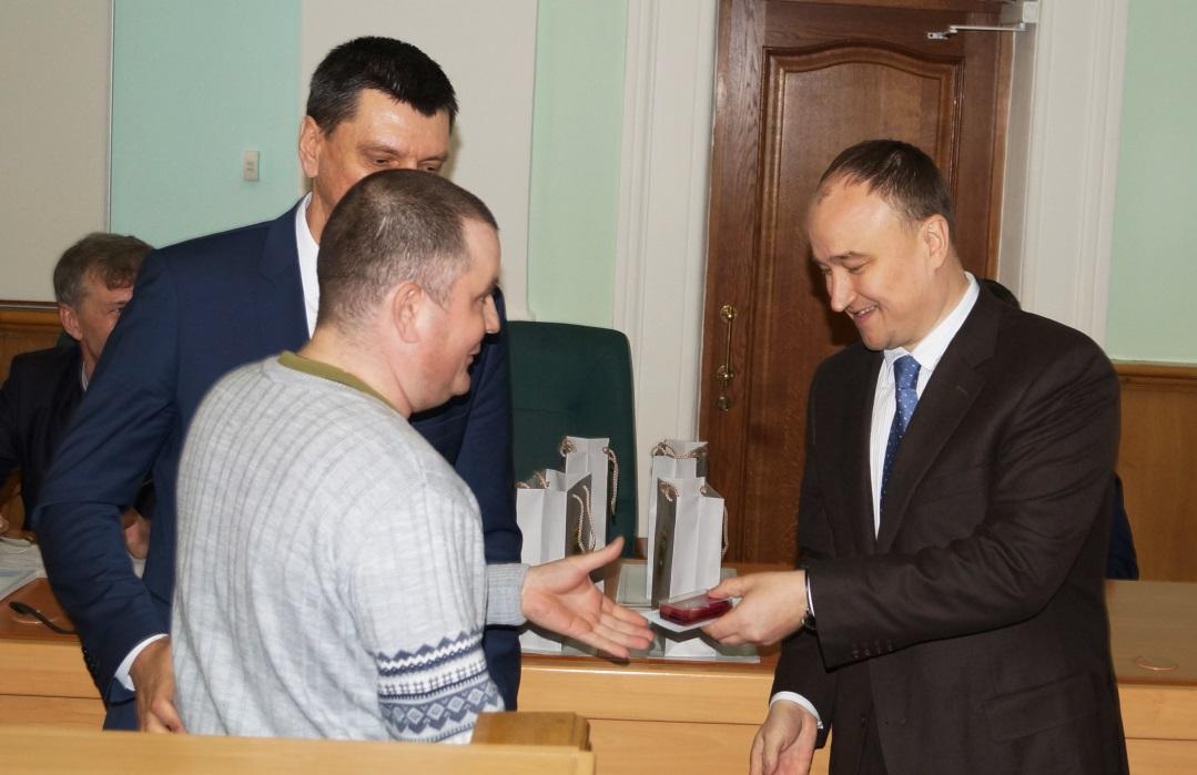 Церемония вручения наград состоялась накануне Всемирного дня охраны труда