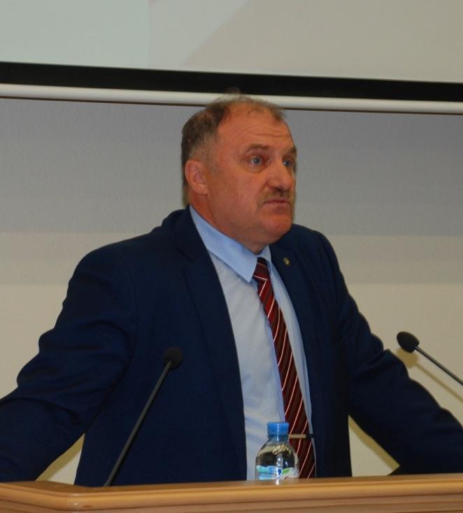 Ю. Горанов, председатель Челябинской областной организации ГМПР