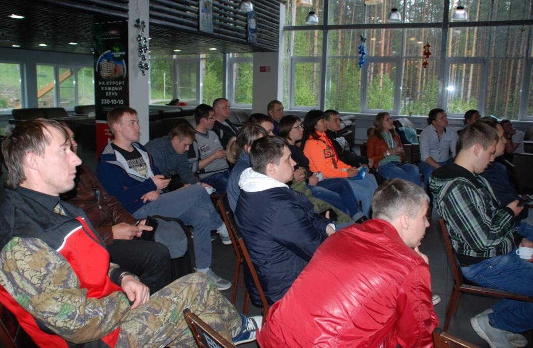 На форуме выступили участники и победители конкурса молодежных профлидеров ГМПР