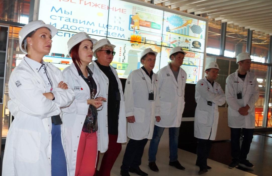 Представители «СПК-Чимолаи» интересовались вопросами организации труда, кадровой политики, опытом развития системы наставничества