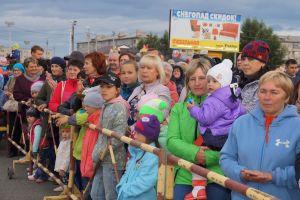 День шахтера в Межозерном