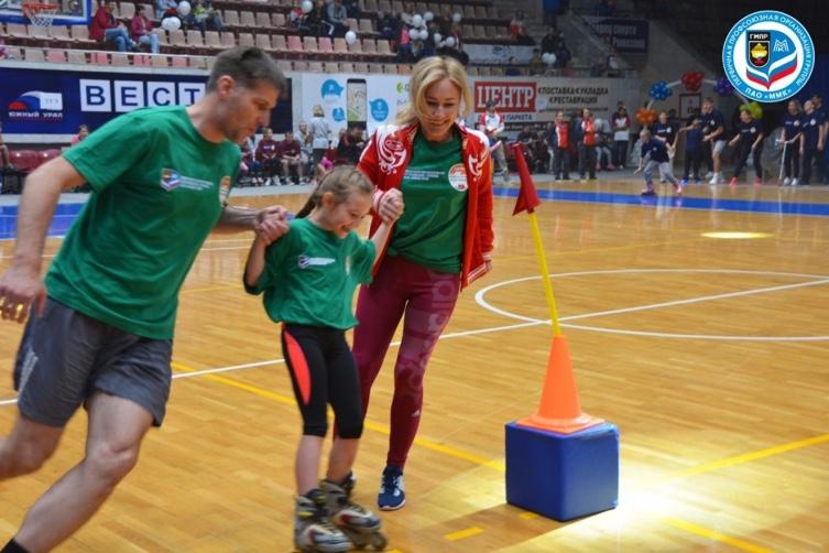 Спортивный праздник «Стартуем вместе!» второй год проводит профсоюзная организация группы ПАО «ММК»