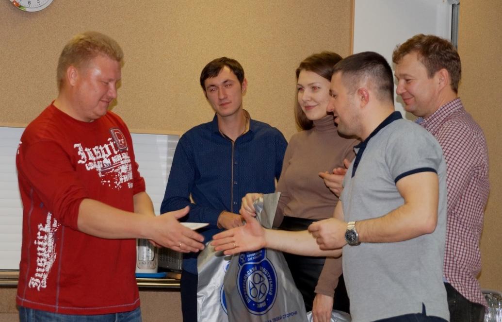 Вручение дипломов об окончании ШМПЛ