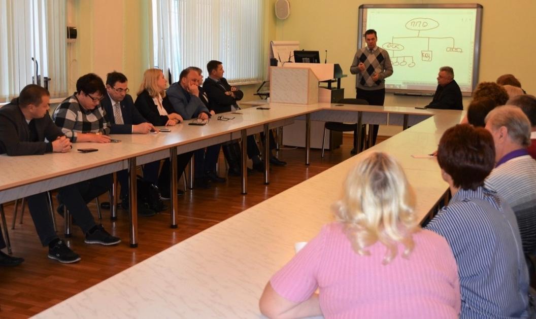 Встреча профактивов ЧМК и ММК
