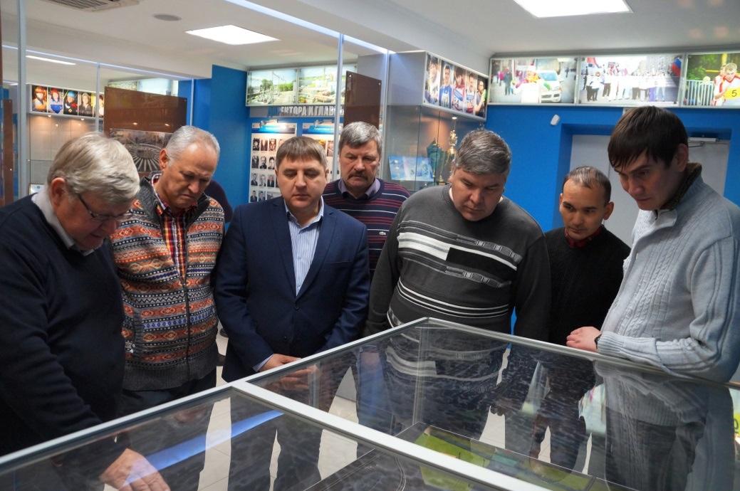 Горняки Учалинского ГОКа в музее истории Челябинского цинкового завода