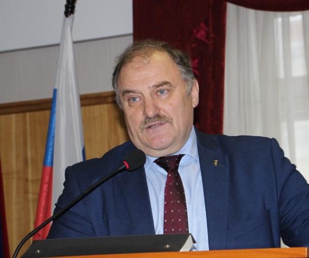 Председатель Челябинской областной организации ГМПР Ю. Горанов