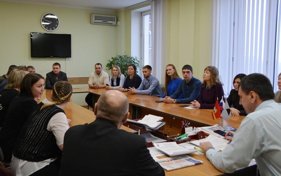 Свердловская делегация ГМПР в профкоме ППО Группы ММК