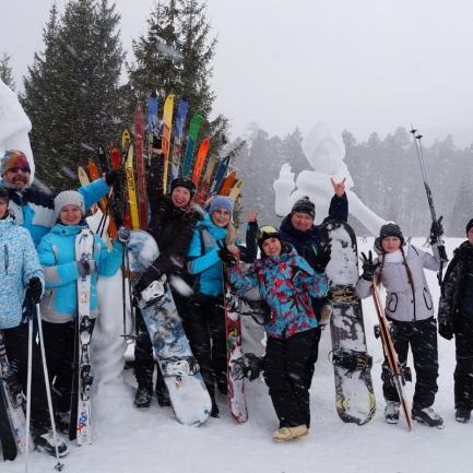 «Снежно! Дружно!» – семейно-спортивный праздник