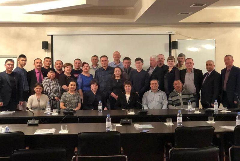 Участники семинара «Казпрофметалл» по охране труда