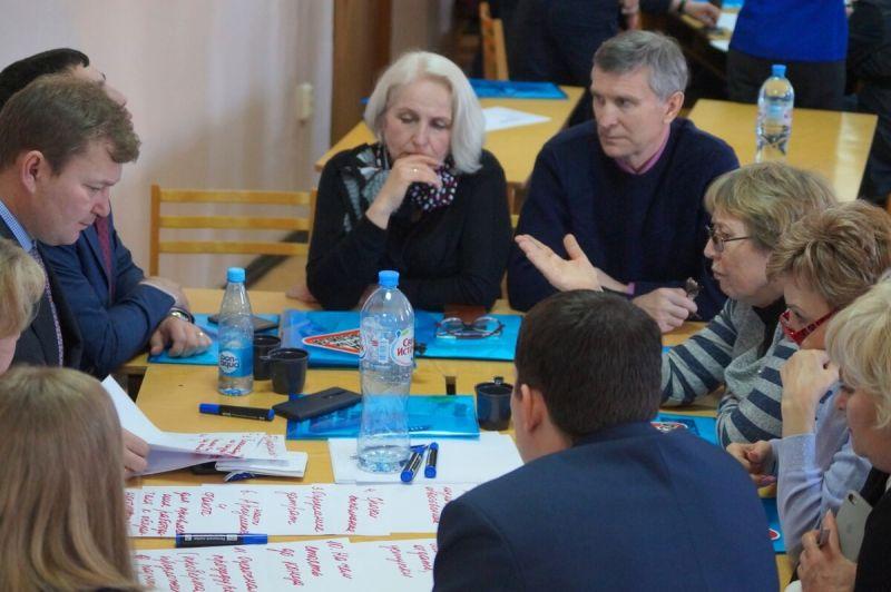 Обсуждаются предложения в ОТС. Областной форум профактива ГМПР