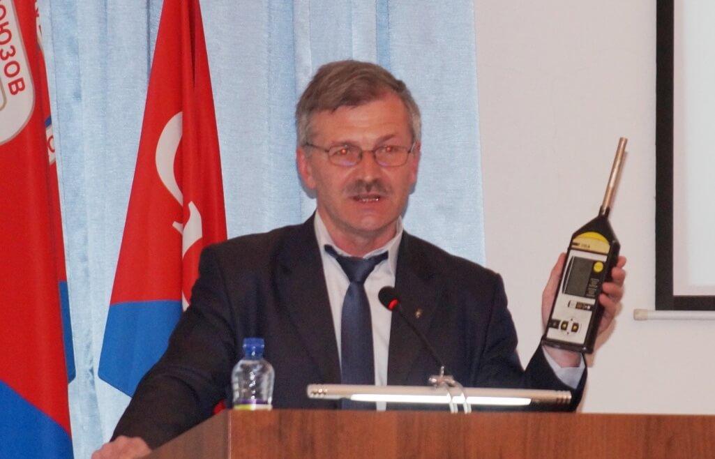В. Костромитин, гл. технический инспектор труда ГМПР