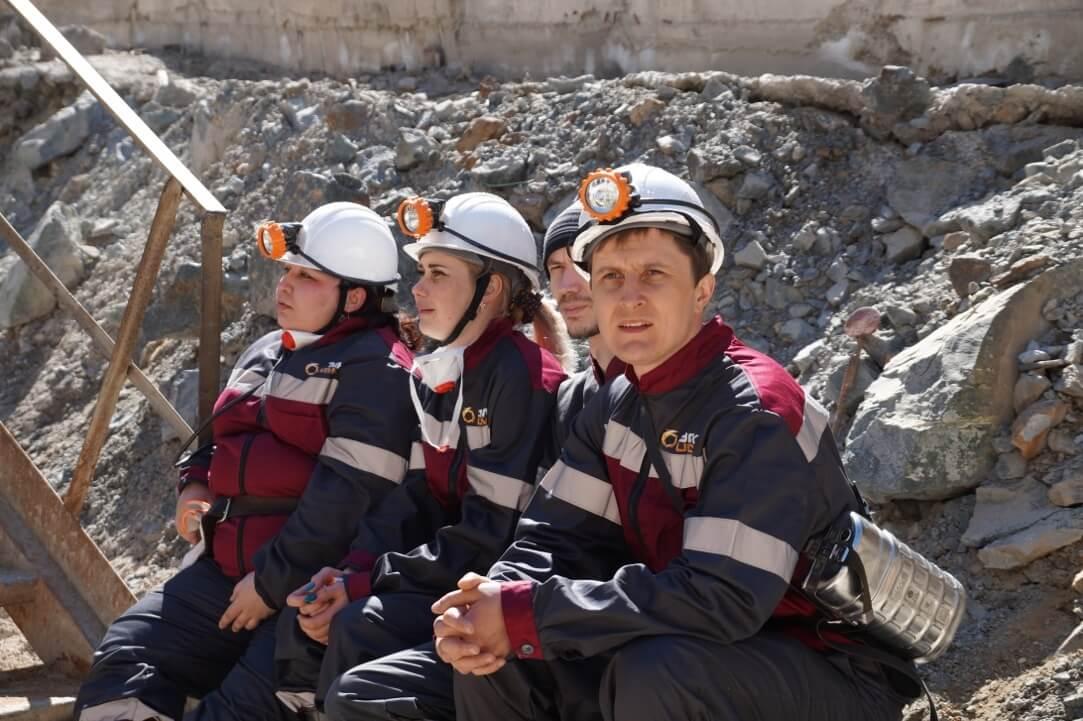 В карьере «Молодежный». Узельгинский рудник Учалинского ГОКа