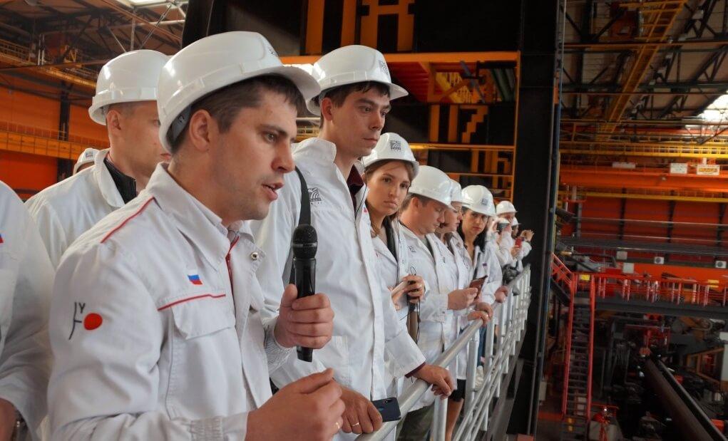 Экскурсия участников молодежного форума ГМПР на «Высоту 239» ЧТПЗ