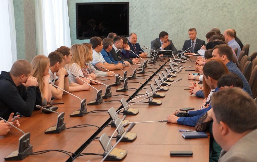 Встреча с депутатами ЗСО