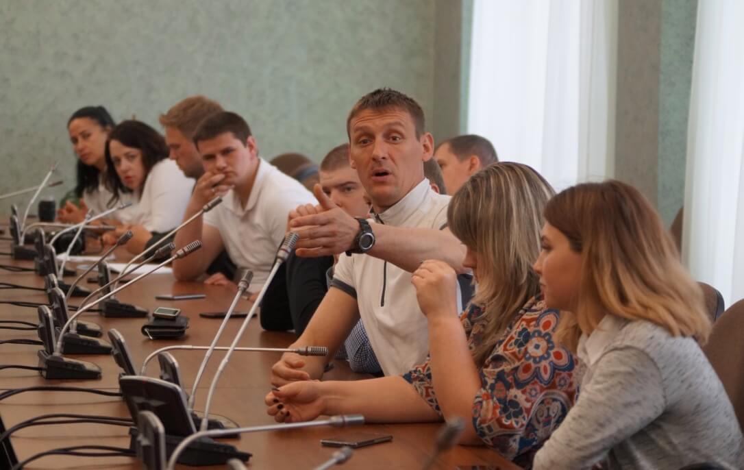 Встреча с молодыми парламентариями Челябинской области