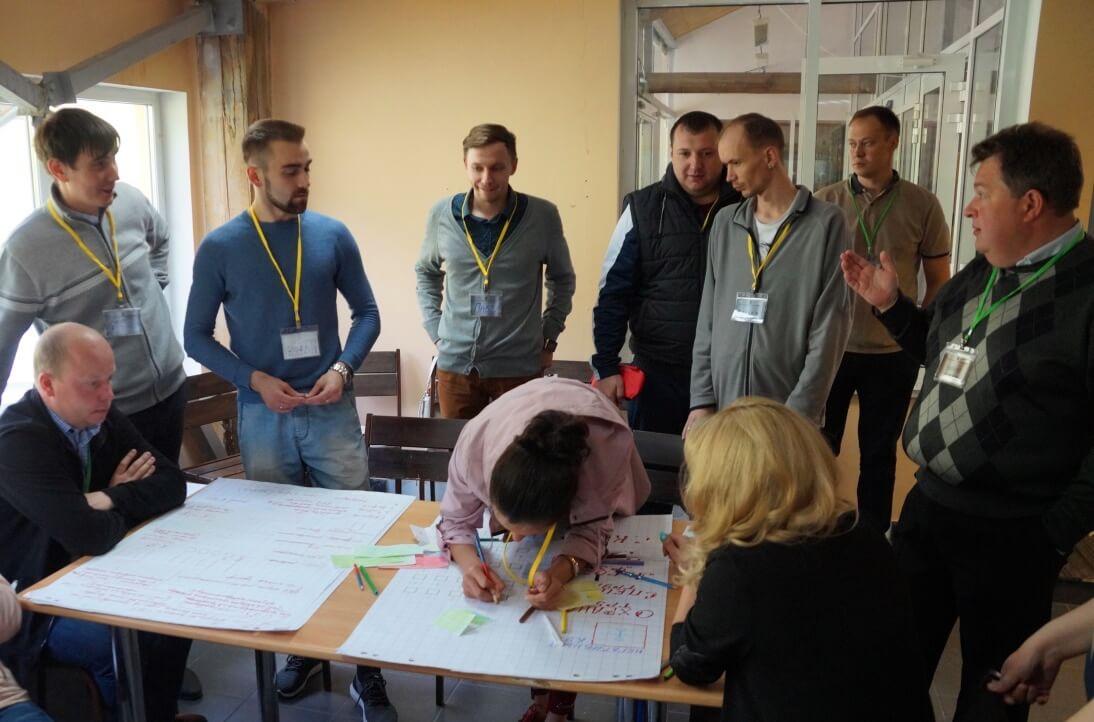 «Школьники» на групповых занятиях в рамках межрегионального молодежного форума ГМПР