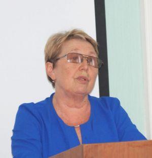 А. Белова, председатель профорганизации БРУ
