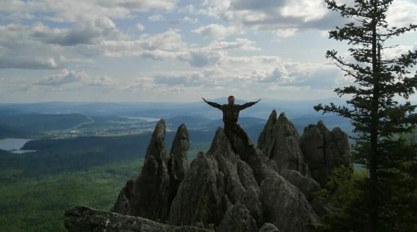 Каменные гребни – одна из достопримечательностей Таганая