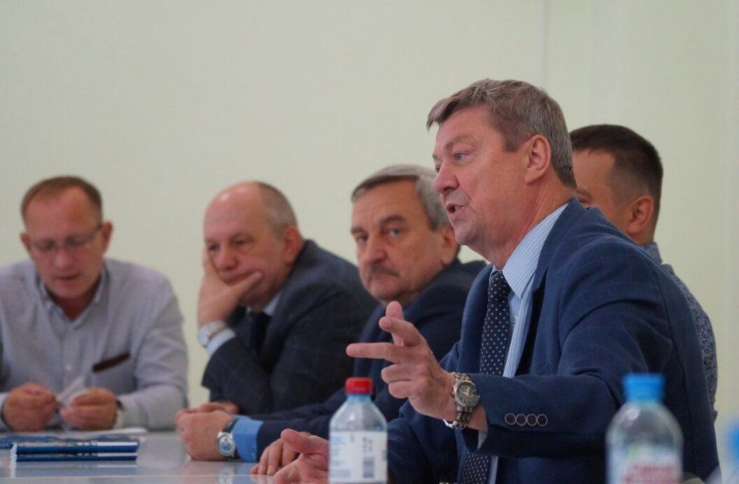 Встреча со специалистами ППО Группы ММК. Выступает В. Уржумцев