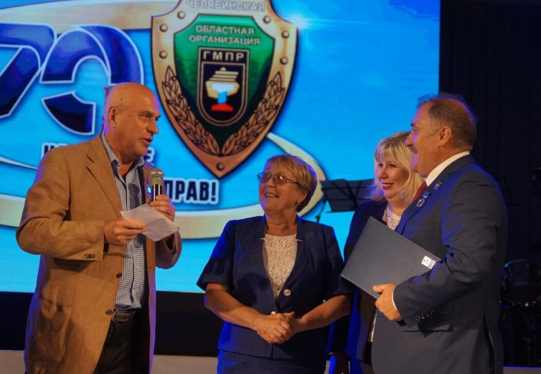 Слева направо: Виктор Скрябин (ЧТПЗ), Анна Белова (БРУ), Елена Рамазанова (ММК-МЕТИЗ), Юрий Горанов (ЧОО ГМПР)