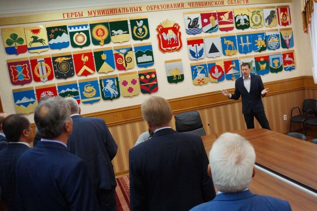 В Гербовом зале областного Законодательного собрания