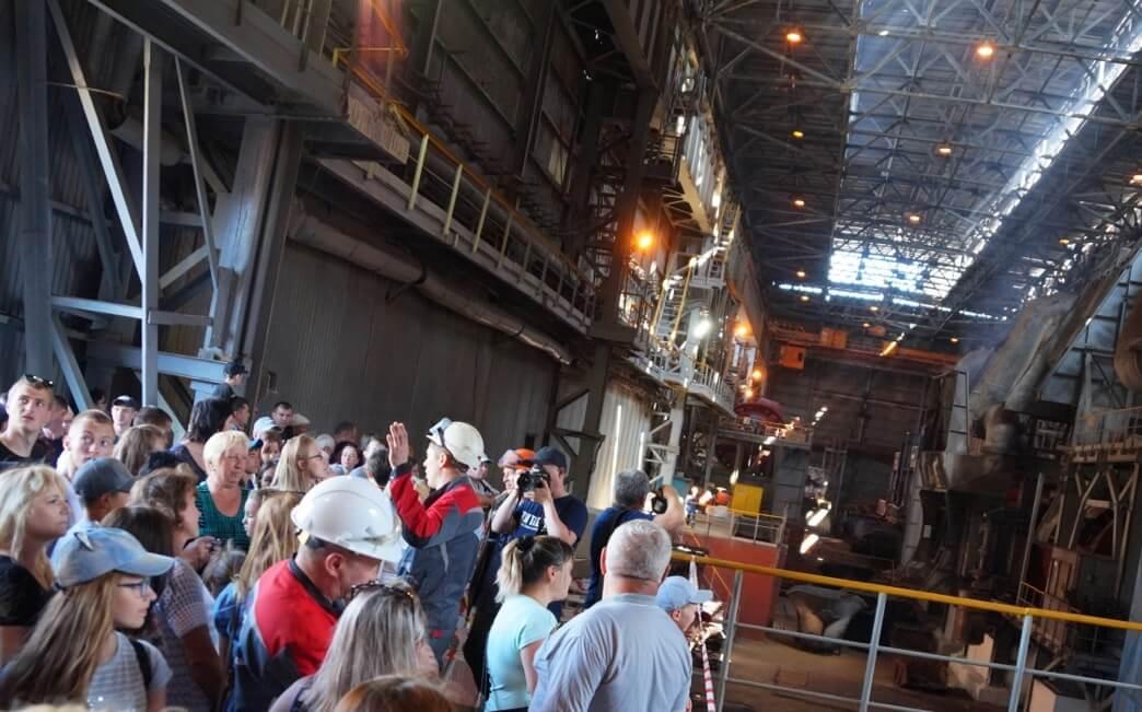 Экскурсия в металлургический цех
