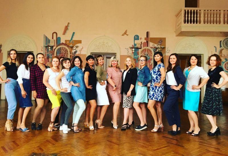 Участницы «Железной леди–2019»