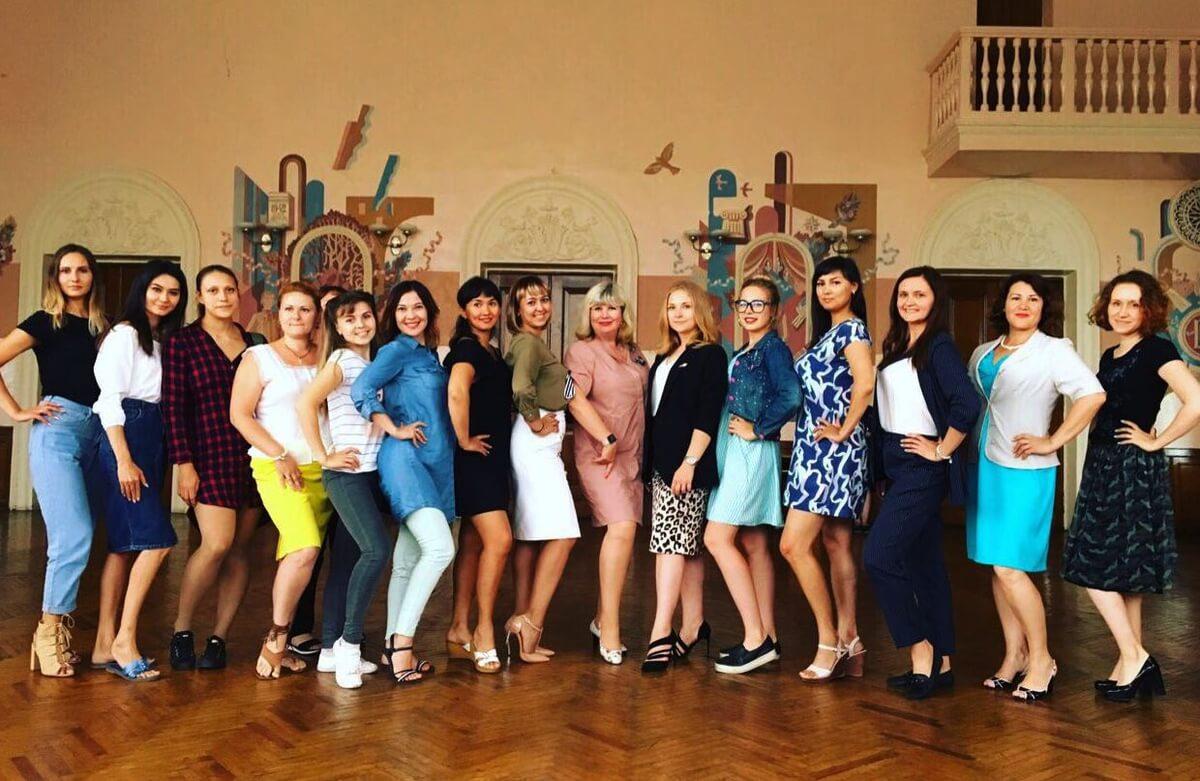 «Железная леди-2019» в полном составе вместе с председателем первички Еленой Рамазановой