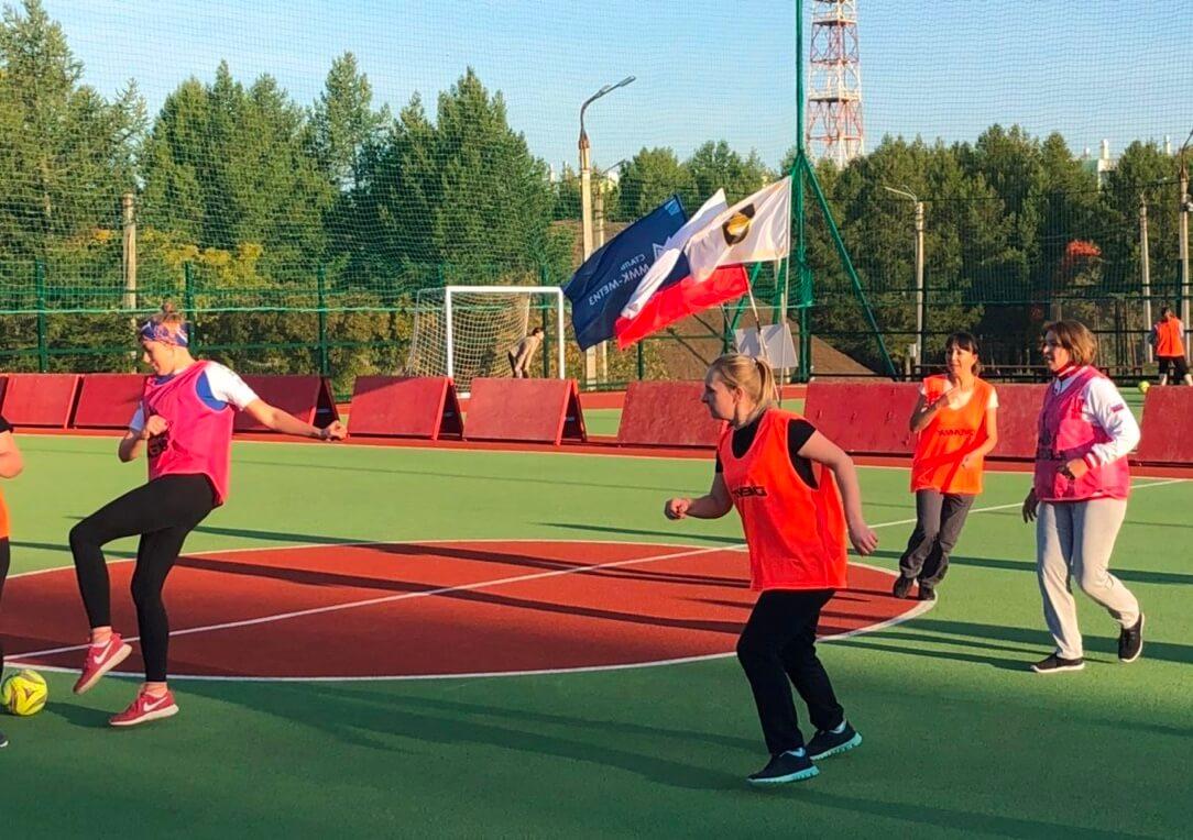 Впервые участницами матчей стали женщины