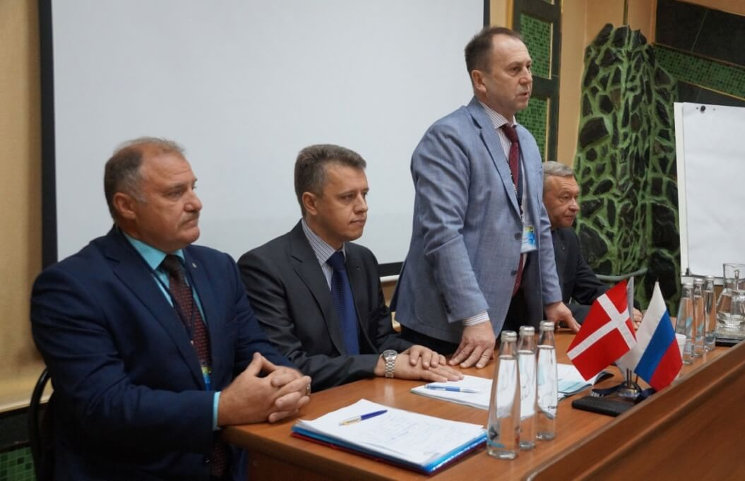 Слева направо: Юрий Горанов, Андрей Шведов, Александр Ушков, Михаил Орлов