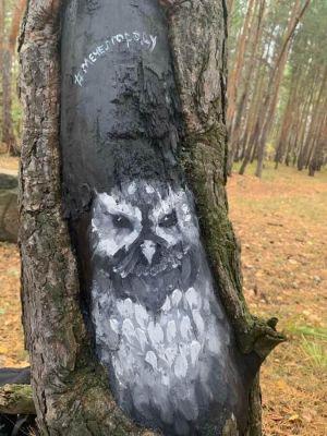 Такие граффити на деревьях появятся в 20 местах Челябинска