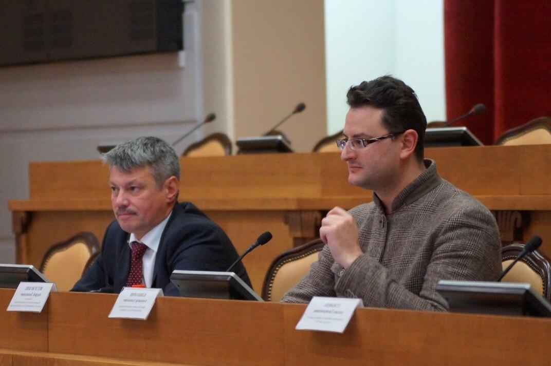 Андрей Ветлужских (слева), Александр Кляшторин