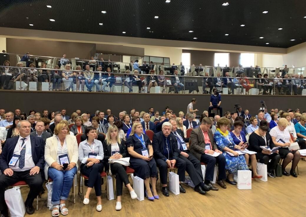 Участниками интеллект-форума стали 250 профлидеров и профсоюзных специалистов со всей России