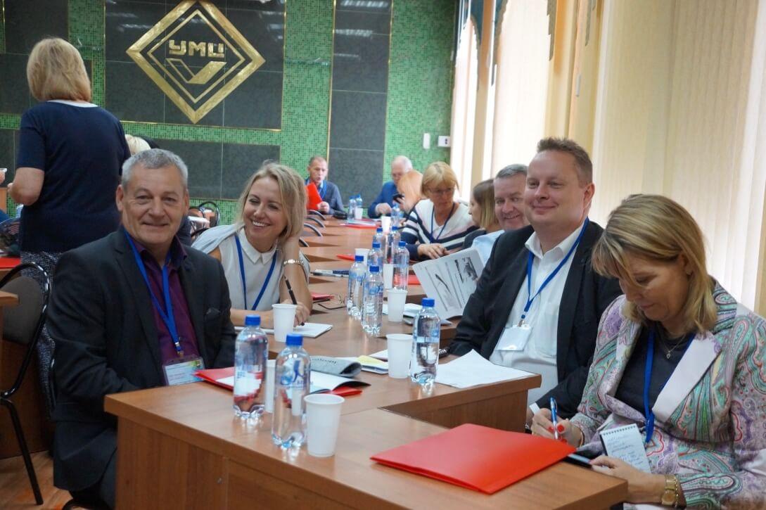 Представители Dansk Metal на форуме информационных работников ГМПР в Н. Новгороде