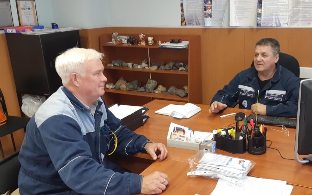 Владимир Щемелев (слева), Владимир Бывалин
