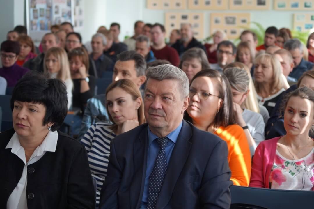Участник конференции – технический инспектор труда ГМПР Владимир Уржумцев