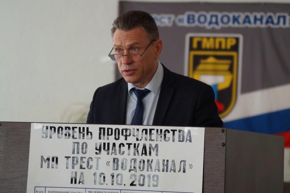 Андрей Мартынов, председатель первичной профорганизации МП «Трест «Водоканал»