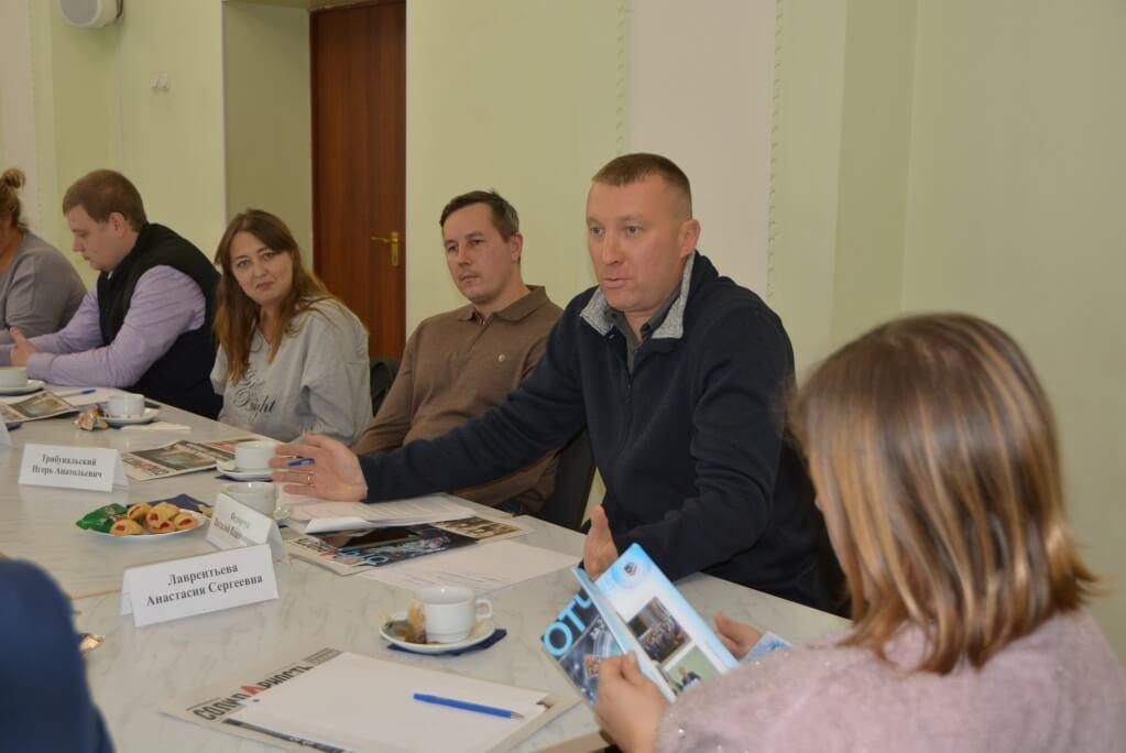 Некоторые решения по работе приложения «Мой профсоюз» были приняты прямо во время встречи