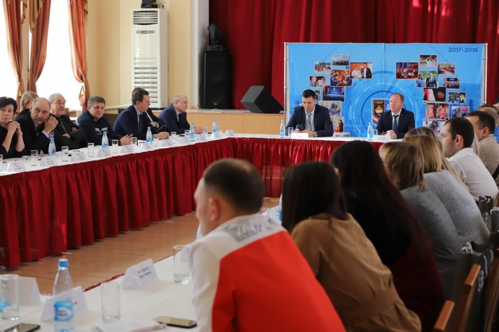 Главная тема встречи – опыт ППО Группы ММК по внедрению института доверенных лиц членов профсоюза