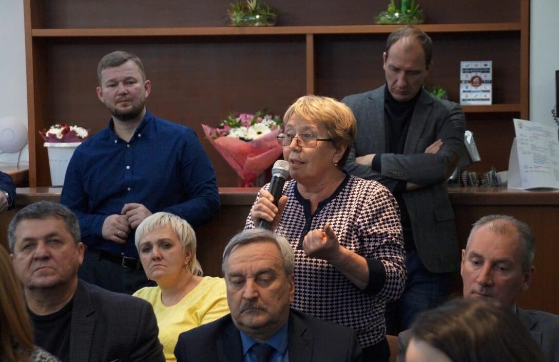 Анна Белова (БРУ): мы не хотим переезжать!
