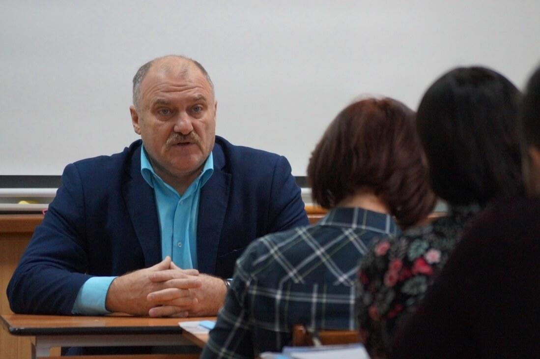 Участников приветствовал Юрий Горанов, председатель Челябинской областной организации ГМПР