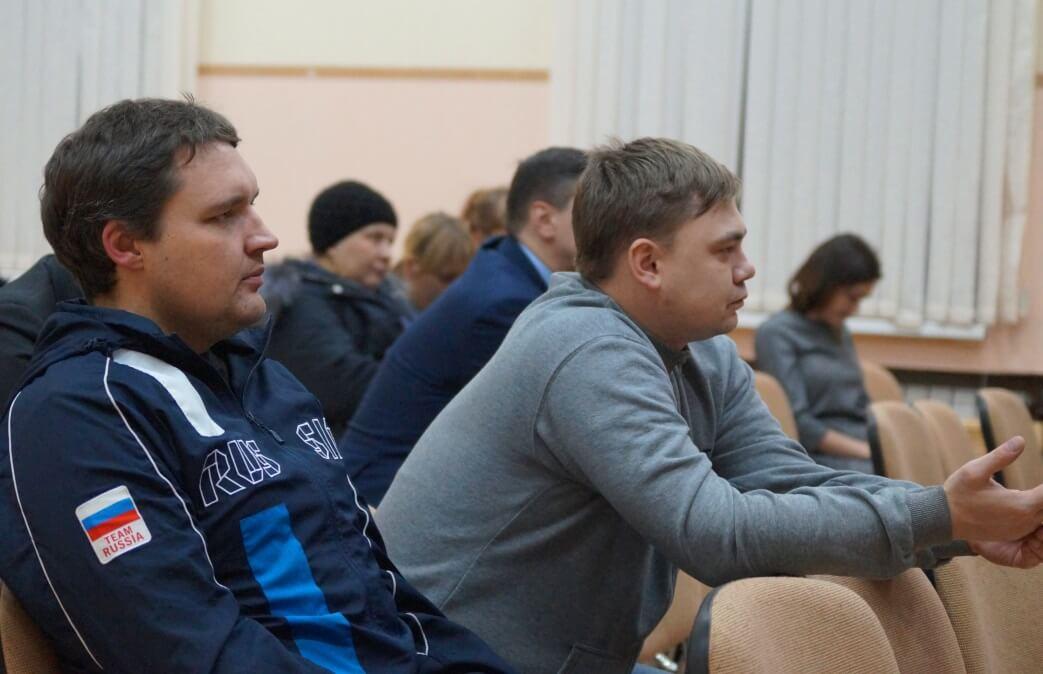 Участники встречи – профактив Карабашмеди