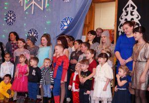 Новый год для детей горняков рудника «Чебачье»