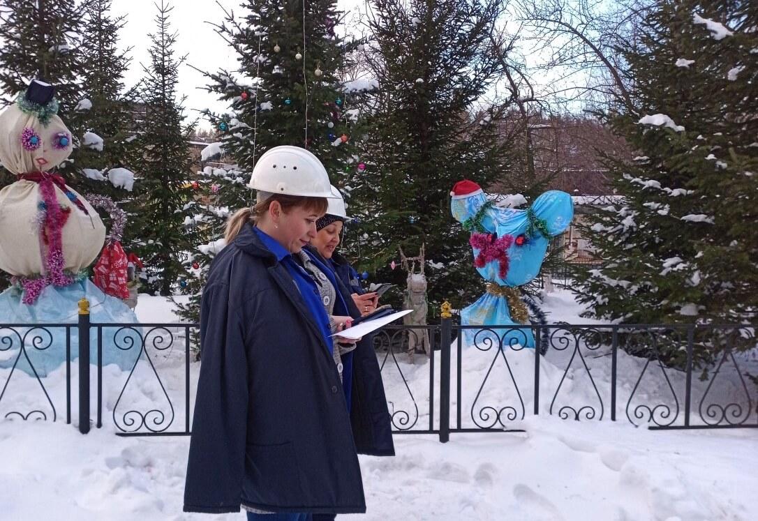 Конкурс «Новогодняя территория». Шедевры от коллектива термокалибровочного цеха