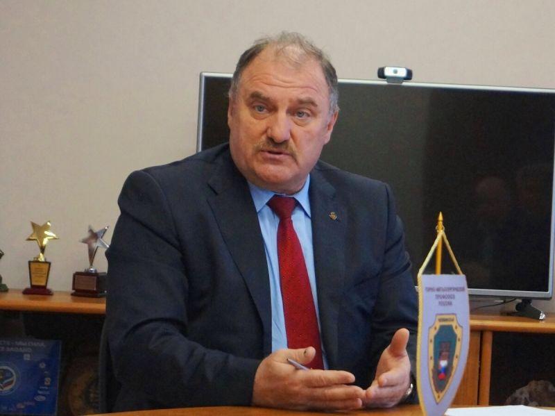 Юрий Горанов, председатель Челябинской областной организации ГМПР